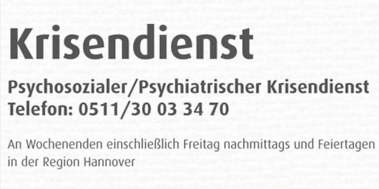 Psychiatrischer Krisendienst